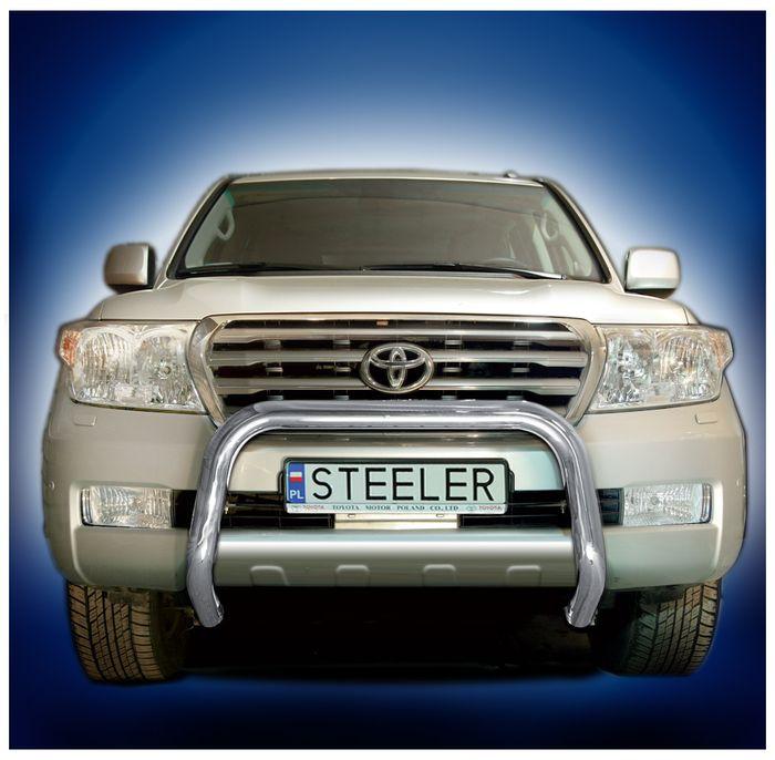 Frontschutzbügel Kuhfänger Bullfänger Toyota Land Cruiser V8/ J20 2008-2012, Steelbar 70mm, schwarz beschichtet