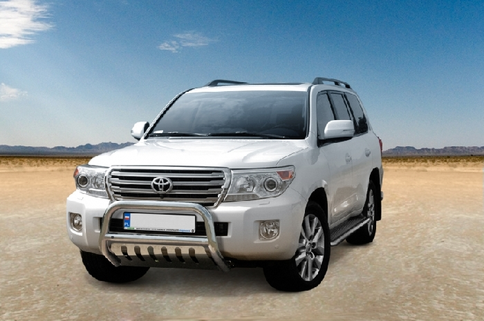 Frontschutzbügel Kuhfänger Bullfänger Toyota Land Cruiser V8/ J20 2012-, Steelbar QFU 70mm