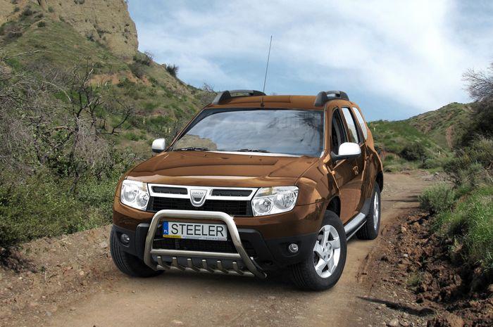 Frontschutzbügel Kuhfänger Bullfänger Dacia Duster 2010-2014, Steelbar QRU 60mm