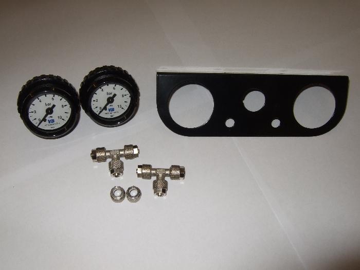 ( LF1) Manometerblende für Zweikreisanlage, universal