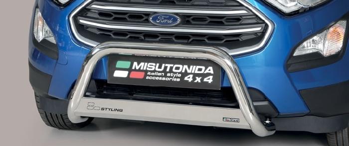 Frontschutzbügel Kuhfänger Bullfänger Ford Ecosport 2018-, Medium Bar 63mm schwarz pulverbeschichtet