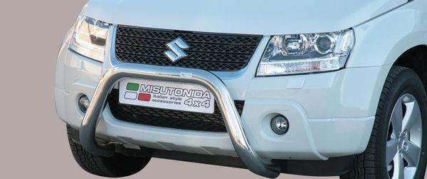 Frontschutzbügel Kuhfänger Bullfänger Suzuki Grand Vitara 2013-2015, Super Bar 76mm Edelstahl Omologato Inox