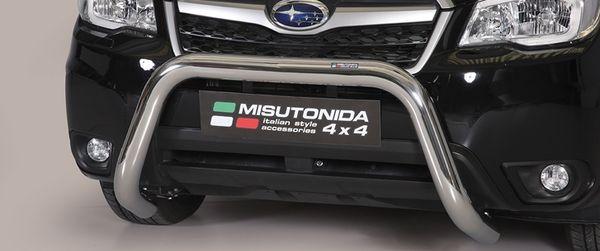 Frontschutzbügel Kuhfänger Bullfänger Mitsubishi Eclipse Cross 2018-, Super Bar 76mm Edelstahl Omologato Inox
