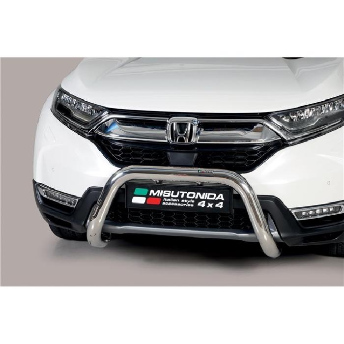 Frontschutzbügel Kuhfänger Bullfänger Honda CR-V Hybrid 2019-, Super Bar 76mm schwarz pulverbeschichtet