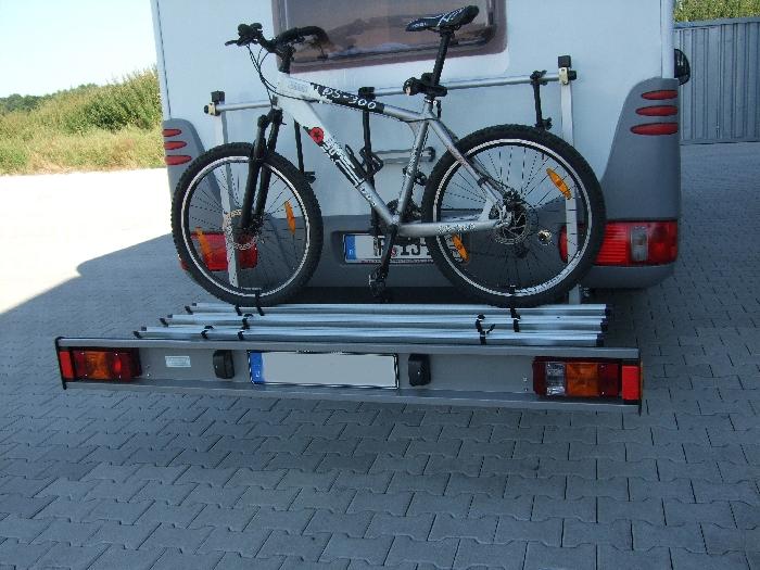 ALUTRANS prestige Wohnmobil Fahrradträger für 3 Fahrräder o. E-Bike