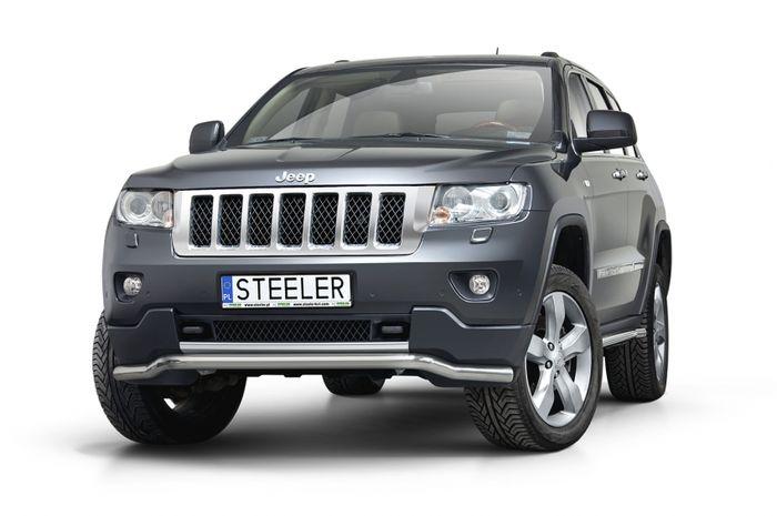 Frontschutzbügel Kuhfänger Bullfänger, Jeep Grand Cherokee 2011-2013, Sportbar 60mm
