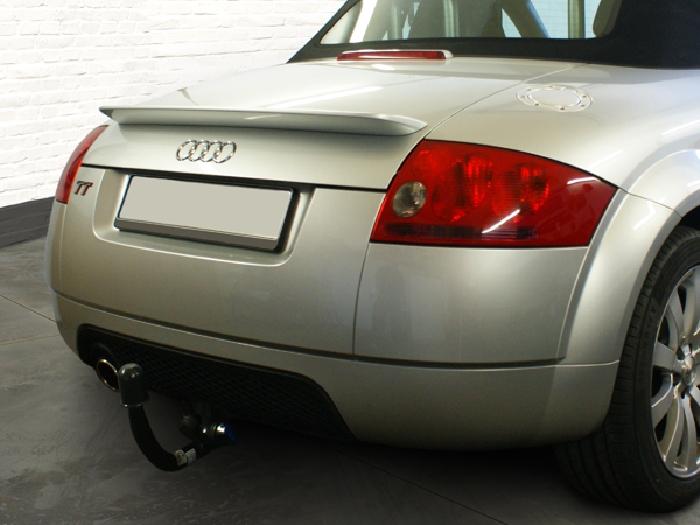 Anhängerkupplung Audi-TT 8N, nur für Heckträgerbetrieb, Sonderanfertigung, Montage nur bei uns im Haus, Baujahr 1998-2007 Ausf.:  vertikal
