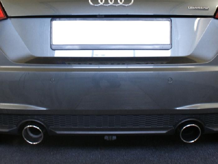 Anhängerkupplung Audi-TT FV/8J/8S, nur für Heckträgerbetrieb- Montage bei uns im Haus, Baujahr 2014-