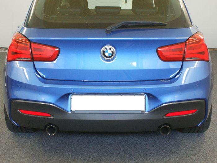 Anhängerkupplung für BMW-1er - 2016- F20, speziell M140i nur für Heckträgerbetrieb Ausf.:  vertikal