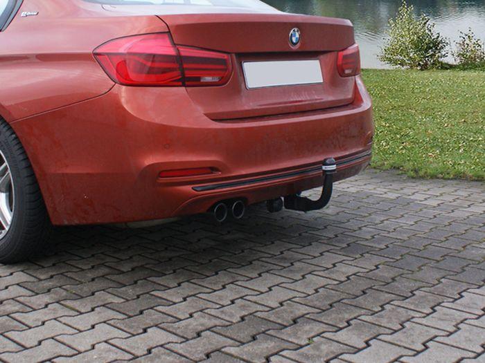 Anhängerkupplung BMW-3er Limousine F30, spez. 330e, nur für Heckträgerbetrieb, Baujahr 2015-