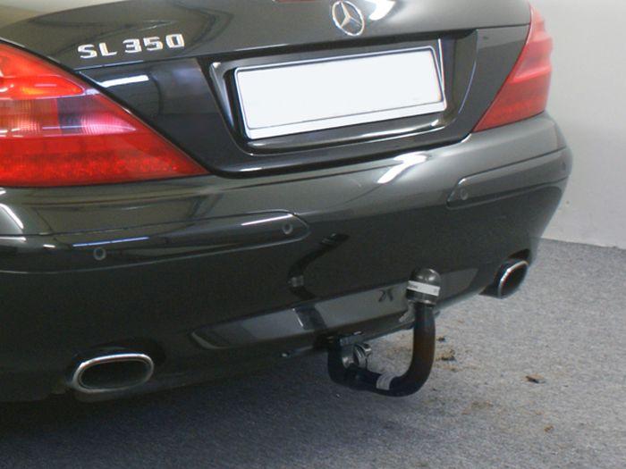 Anhängerkupplung für Mercedes-SL - 2001-2006 R 230 I, nur für Heckträgerbetrieb Ausf.:  vertikal