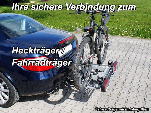 Anhängerkupplung für Mercedes-SLC R172 nur für Heckträgerbetrieb, Baujahr 2016-