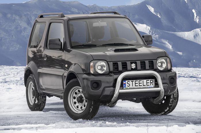 Frontschutzbügel Kuhfänger Bullfänger Suzuki Jimny 2012-2018, Steelbar Q 70mm