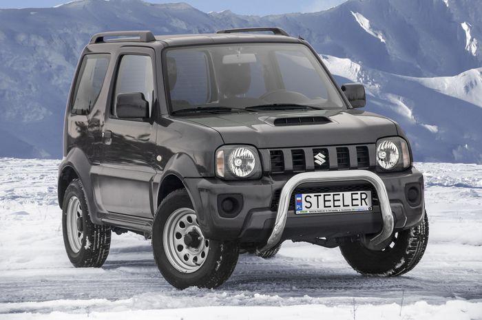 Frontschutzbügel Kuhfänger Bullfänger Suzuki Jimny 2012-2018, Steelbar 70mm