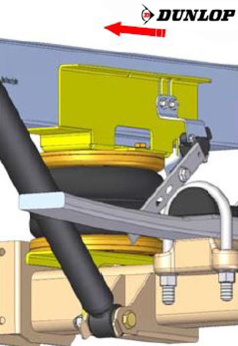 Mercedes Sprinter, Typ 211-314, Frontantrieb, Baujahr 2018-, Zusatz-Luftfederung 8 Zoll Doppelfaltenbalg- Anlage, syst. LF3- zzgl. Montagekosten bei uns im Haus.