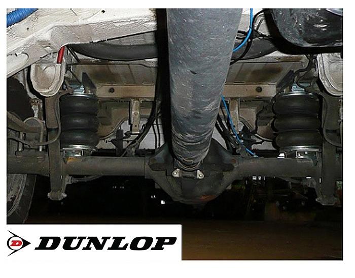 Mercedes Sprinter Bj. 2006-2018, Modelle 313-324, nur f. Allrad, Zusatz-Luftfederung 8 Zoll Zweikreis Doppelfaltenbalg- Anlage, syst. LF3- zzgl. Montagekosten bei uns im Haus.
