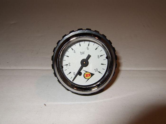 ( LF3) Druckluft Manometer Dunlop, f. Schlauch, 5,00 mm, Aktionspreis