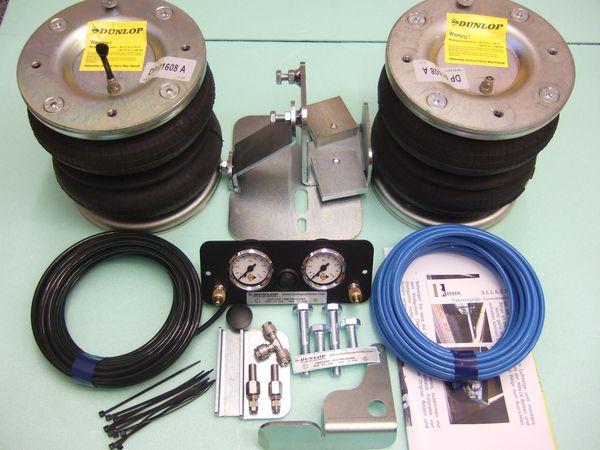 Citroen C25 Eurochassis 280/290 (1982-1993), Zusatz-Luftfederung 8 Zoll Zweikreis Doppelfaltenbalg- Anlage, syst. LF3