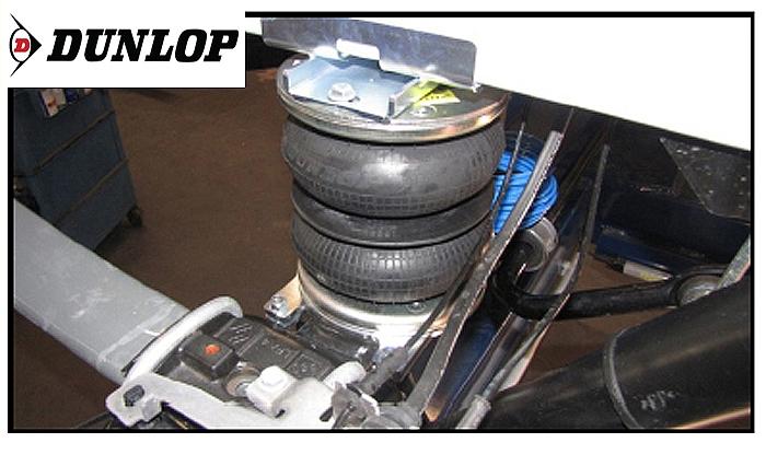Nissan NV 400 III Bj. 2010-2014, Heckantrieb einzelbereift, Zusatz-Luftfederung 8 Zoll Zweikreis Doppelfaltenbalg- Anlage, syst. LF3- zzgl. Montagekosten bei uns im Haus.