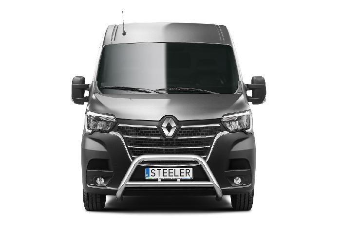 Frontschutzbügel Kuhfänger Bullfänger Renault Master 2019-, Steelbar Q 70mm