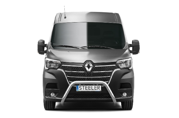 Frontschutzbügel Kuhfänger Bullfänger Renault Master 2019-, Steelbar 70mm