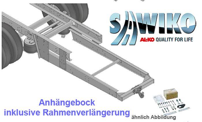 Anhängerkupplung Typ Sawiko 023, f. Wohnmobile ohne tragfähige Rahmenverlängerung, D 14,7-20,5kN.