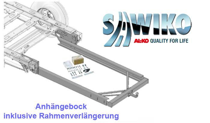 Anhängerkupplung Typ Sawiko 026, f. Wohnmobile ohne tragfähige Rahmenverlängerung, D 12,5kN