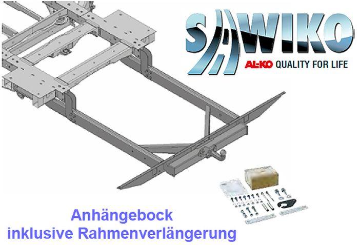 Anhängerkupplung Typ Sawiko 042, f. Wohnmobile ohne tragfähige Rahmenverlängerung, D 7,7kN