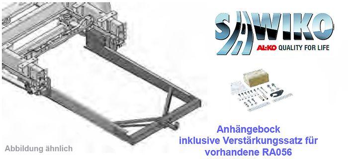 Anhängerkupplung Typ Sawiko 056B, f. Wohnmobile ohne tragfähige Rahmenverlängerung, D 12,5kN