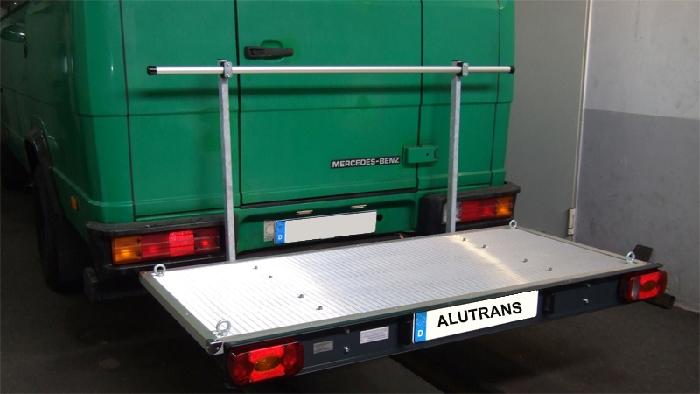 ALUTRANS prestige Plattformträger XL spez. für Mercedes Vario Bj. 1986-1996, m. AHK