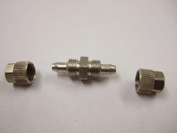 ( LF3) Stossverbinder, gerade, 5,00 mm verschraubt