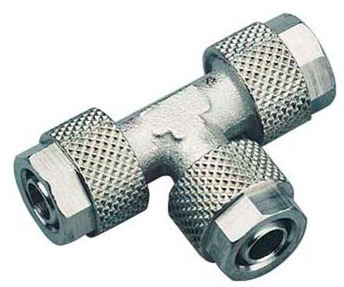 ( LF1) Verbinder, T- Stück, 6,00 mm Schraubanschluss