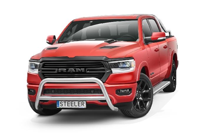 Frontschutzbügel Kuhfänger Bullfänger Dodge RAM 1500 2019-, Steelbar Q 70mm