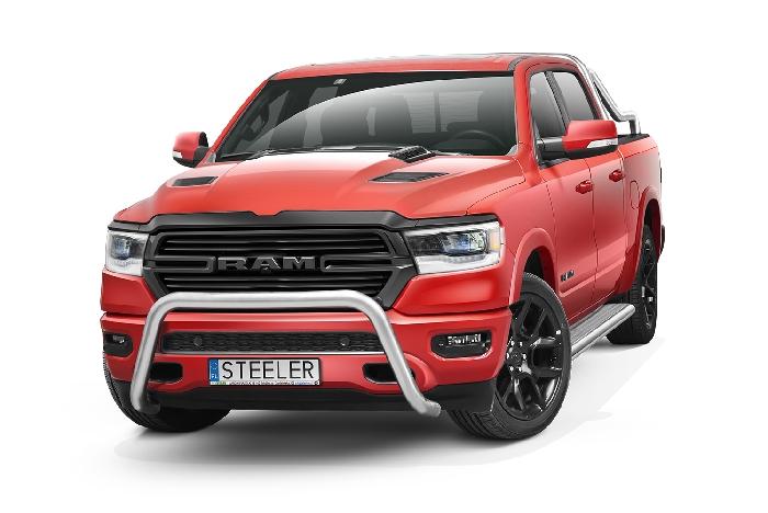 Frontschutzbügel Kuhfänger Bullfänger Dodge RAM 1500 2019-, Steelbar 70mm