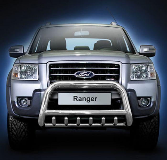 Frontschutzbügel Kuhfänger Bullfänger Ford Ranger 2007-2009, Steelbar QRU 70mm
