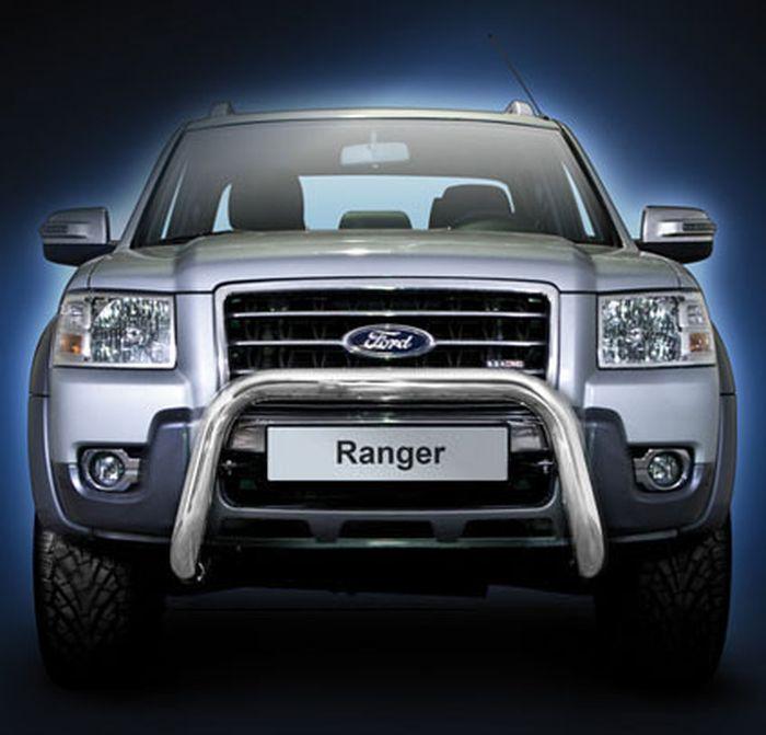 Frontschutzbügel Kuhfänger Bullfänger Ford Ranger 2009-2011, Steelbar 70mm, schwarz beschichtet