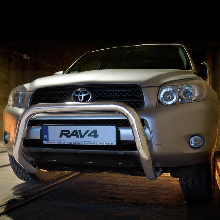 Frontschutzbügel Kuhfänger Bullfänger Toyota RAV4 2006-2009, Steelbar 70mm