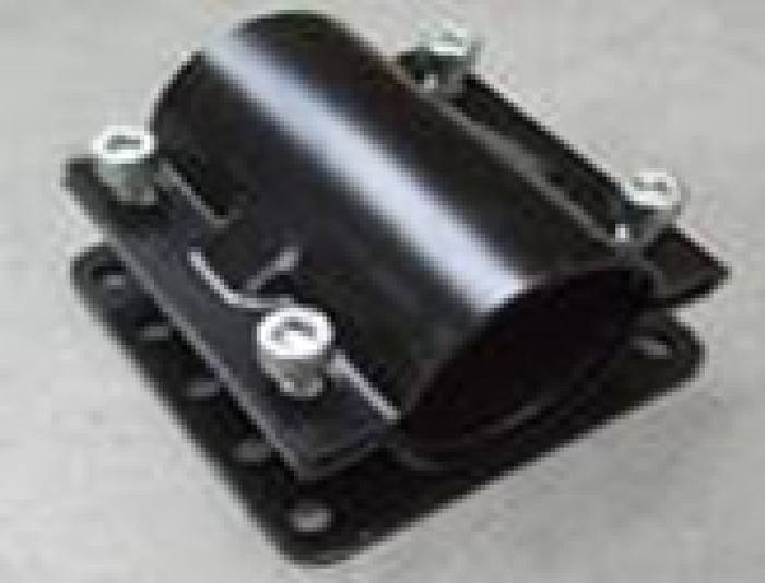 Zubehör Stützenhalter: Uni Stützenhalteschelle ADRATINO 65mm 130/130 für Serie 30