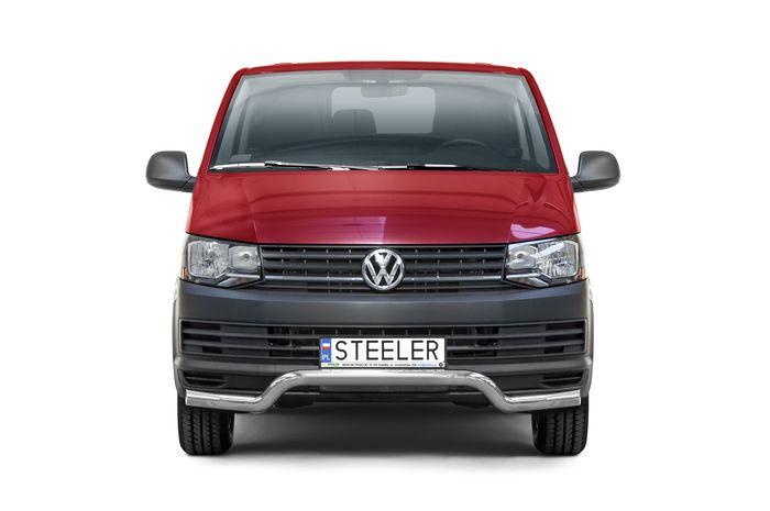 Frontschutzbügel Kuhfänger Bullfänger VW Transporter T6 2015-2019, Sportbar UF 70mm