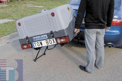 TowBox System BOX System BOX V1, grau, Toplader