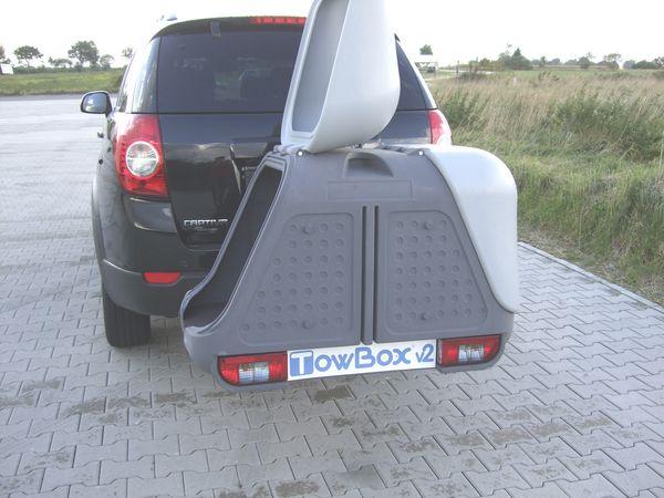 lastentr ger von towbox mit grundtr ger und box als. Black Bedroom Furniture Sets. Home Design Ideas