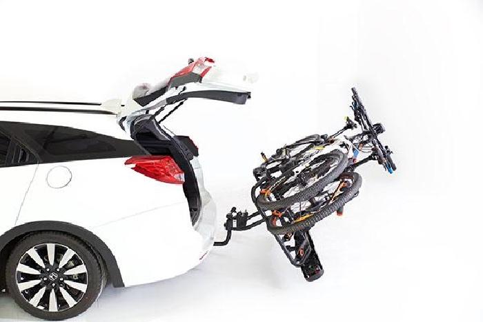 TOWCAR T4 Fahrradträger f. 4 Fahrräder für d. Anhängerkupplung AHK Fahrradträger für 4 Fahrräder