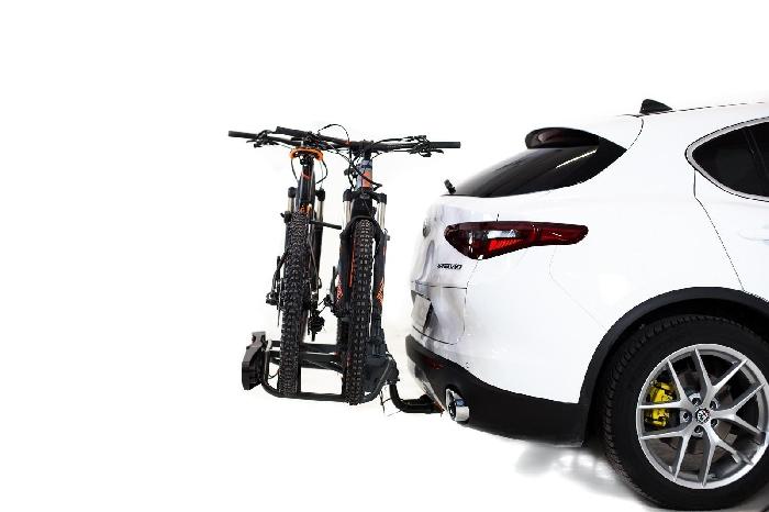 TOWCAR TR2 Fahrradträger f. 2 Fahrräder für d. Anhängerkupplung AHK Fahrradträger für 2 Fahrräder