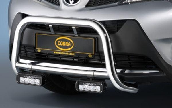 Frontschutzbügel Kuhfänger Bullfänger Toyota RAV4 2013-2015, Frontbügel 60mm Edelstahl