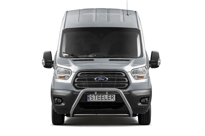 Frontschutzbügel Kuhfänger Bullfänger Ford Transit 2014-, Steelbar 70mm