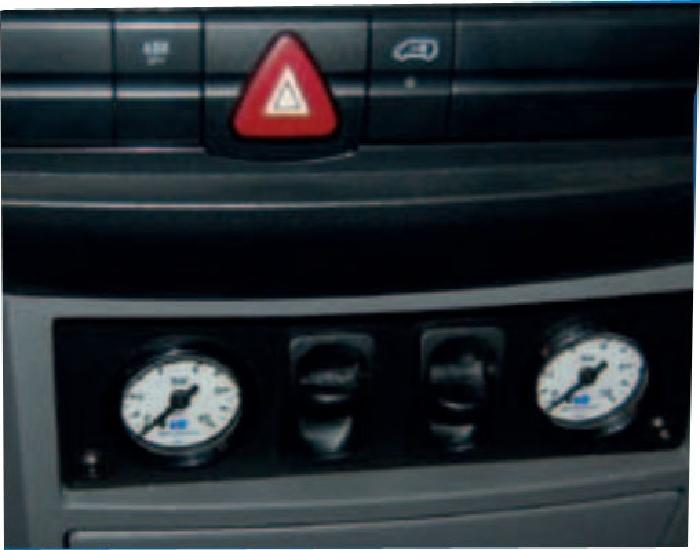 Mercedes Sprinter Bj. 2006-2018, Modelle 209-324 Radstand 3665-4325mm, Zusatz-Luftfederung 8 Zoll Zweikreis Doppelfaltenbalg- Anlage, Semi Air Komfortset-Camp, syst. LF1
