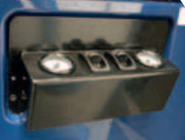 Mercedes Sprinter Bj. 2006-2018, Modelle 209-324, Radstand 3665-4325mm, Zusatz-Luftfederung 8 Zoll Zweikreis Doppelfaltenbalg- Anlage, Semi Air Komfortset-LCV, syst. LF1