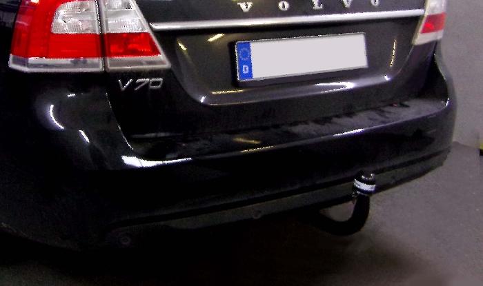 Anhängerkupplung für Volvo-V70 - 2007-2016 Kombi, ohne Niveauregulierung Ausf.:  vertikal
