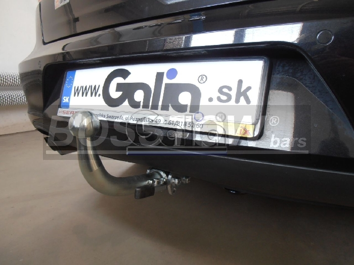 Anhängerkupplung für Audi-A4 Limousine - 2004-2007 S4 Ausf.:  horizontal