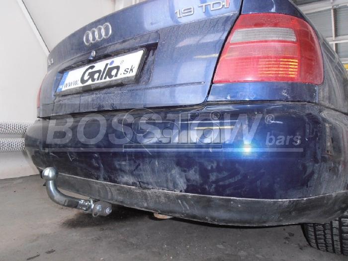 Anhängerkupplung für Audi-A4 Limousine - 1994-1999 nicht Quattro, nicht S4 Ausf.:  horizontal